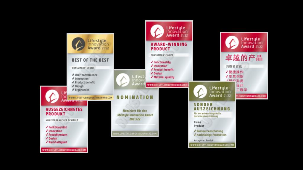Lifestyle Innovation Award Signets